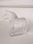 Vintage - Dala Horse Decoration in Glass