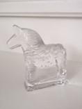 Vintage - Dala Horse Decoration in Glass
