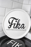 Love Design - FIKA Tray, White