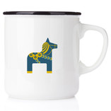 Happy - Swedish Mug Dala