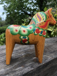 Vintage -  Dala Horse, Natural, 14 cm