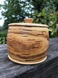 Vintage -  Jar made of Birch from Lapland