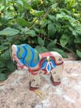 Vintage - Handpainted Wooden Decoration Horse