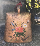 Vintage - Handpainted Cowbell from Dalarna