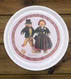 Vintage - Folklore Tray from Skåne