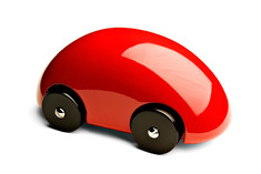 Playsam Streamliner Car Red