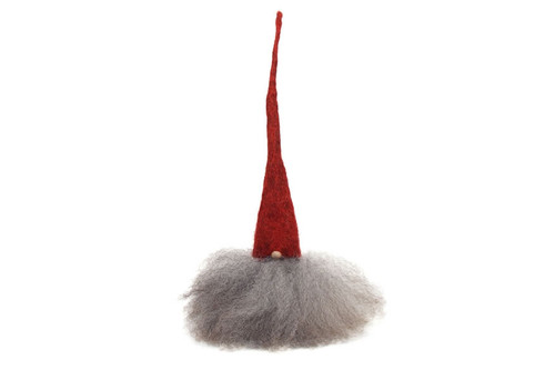 Åsas Tomtebod - Small Tomte Red/Grey
