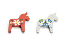Skandinavisk Hemslöjd - Dala Horse Magnet