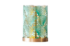 Skultuna - Lunar Candle Holder (The London Collection) Green