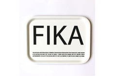 I Love Design - FIKA Tray White