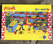 Pippi Longstocking Puzzle, 50 pcs