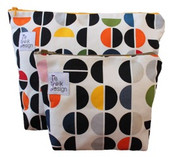 ReThink Design - Toiletry Bags Set White Graphic
