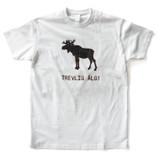 Adopt a Fly - White T-shirt - Trevlig Älg