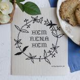 Tubbin - Hem Rena Hem Dishcloth