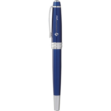 Cross Bailey Blue Lacquer Roller Ball # 5140