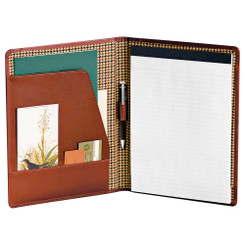 Cutter & Buck Leather Writing Pad - Ecritoire padfolio portfolio #5365