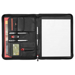 Wenger Executive Leather Zippered Padfolio - Ecritoire padfolio portfolio #5366
