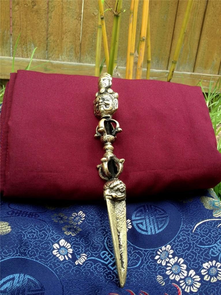 Extra Large Ritual Item Phurba Kilaya 8.5 inches