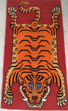 100 knot tiger rug Carpet from Nepal 100% wool
