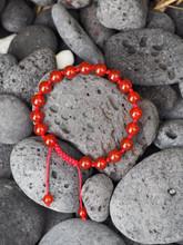 Handmade individually knotted Calming Anger wrist mala yoga bracelet