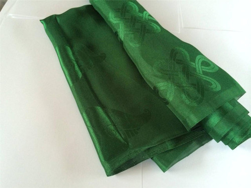 High Quality Tibetan Prayer scarf Kata Green color