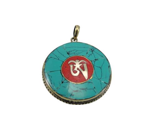 Handmade Tibetan Om Pendant