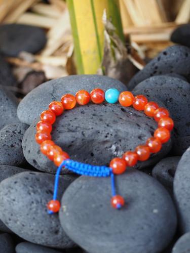 Carnelian Karma healing Bracelet
