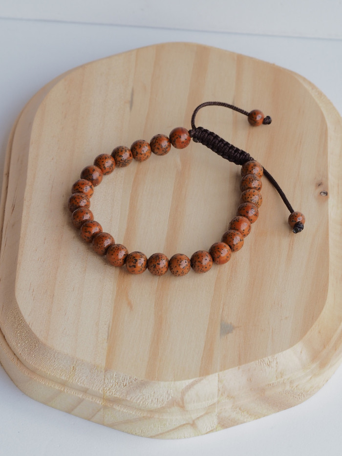 High Energy dark lotus Seed Wrist mala Bracelet