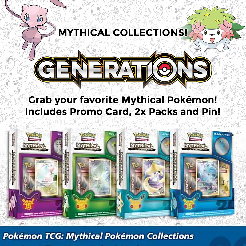 Pokemon TCG Cards & Accessories