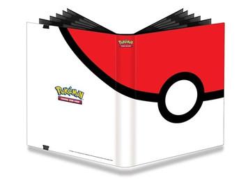 Ultra PRO Pokemon Full-View 9-Pocket PRO-Binder Pokeball
