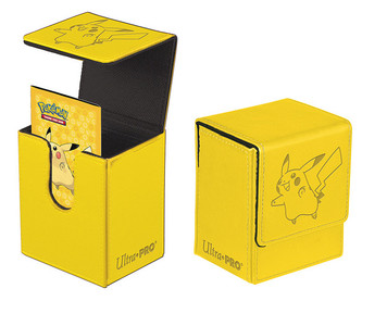 Ultra PRO Pokemon Flip Deck Box Pikachu