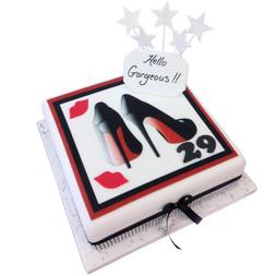 Hello Gorgeous Cake
