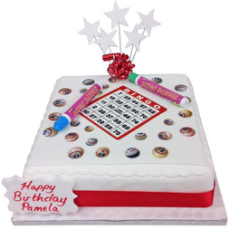 Bingo Cake