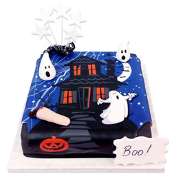 Spooky Night Cake