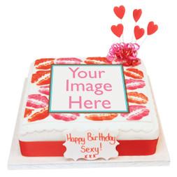 Kisses Photo Cake