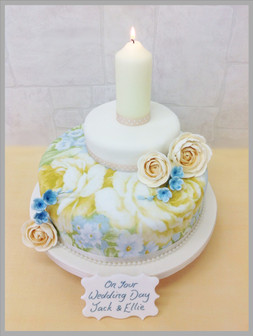 Forget Me Not Luxury Cake