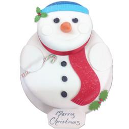 Frosty Snowman Luxury Cake