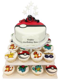 Pokemon Cake Tower