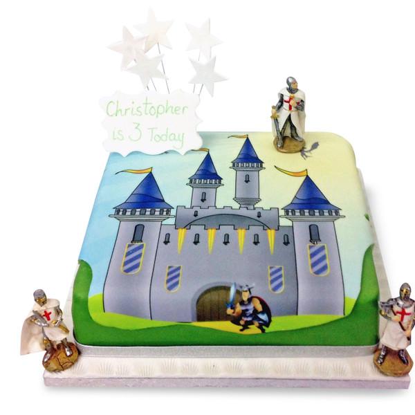 Knights Castle Cake