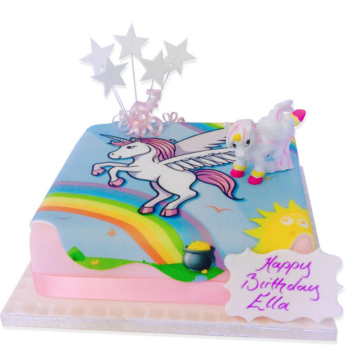 Unicorn Birthday Cake Order Online From The Brilliant Bakers