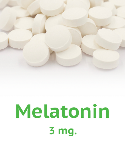 Melatonin 3 mg Tablet (U.S. Only)