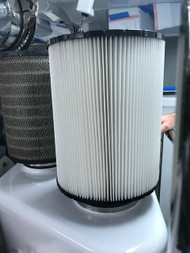 MPW B120376 Cleanable Air Filter to replace original MTU with better filtration