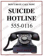 Suicide Hotline Flyer