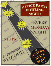 Office Party Bowling Night
