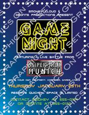 Game Night Flyer