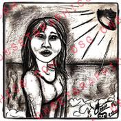 GIRL ON SUN RAYS TK