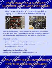 Mathematics & Science Internship