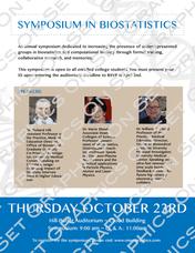 Symposium in Biostatistics