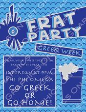 Frat Party Flyer