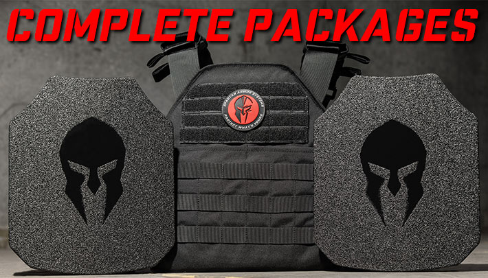 body armor and plate carrier complete packages